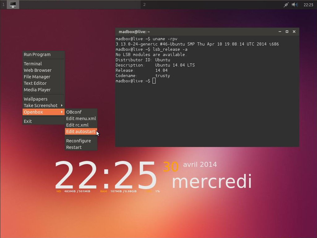 Madbox GNU/Linux